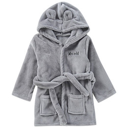 $enCountryForm.capitalKeyWord NZ - SAGACE Robes infant robe for children child Baby Towel bathrobe Solid Bathrobe Cotton Plush Hooded Bath Pajamas 19May28