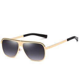 $enCountryForm.capitalKeyWord Australia - Fashion Wrap Sunglasses For Man Summer PC Lenses Reflective Male Glasses Brand Designer Metal Frame Sunglasses UV400 Wholesale