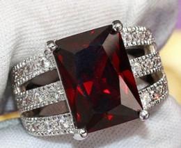 Diamond Cluster Rings Wholesale Australia - wonderful low price high quality 3pcs  lots diamond crysltal 925 silver men's ring size 6--10wew14.5wq
