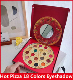 $enCountryForm.capitalKeyWord NZ - Newest Famous Pizza 18 Color Eyeshadow Make up Kit ,Imeago Palette 18 Delicious Toppings With a gift bags