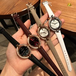 Ladies Wrist Chain Watch Australia - 2019 Best quality Ladies watches Fashion wrist watches Oval hollowed-out watches
