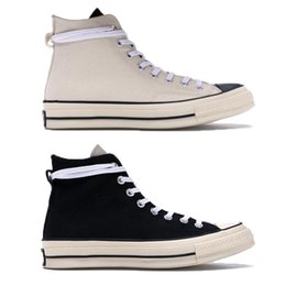 Al Stars Australia - 2018 Release Man Women Running Shoes Sports Sneakers Casual Fear of god X AL STAR Chuck 70S HI White 164530C 1970S HIGH Black 164529C