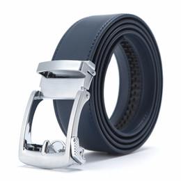 $enCountryForm.capitalKeyWord UK - New Designer Popular Luxury Cowhide Leather Belt Men Blue Brown Automatic Buckle Belly Waist Business Casual Belts For Men