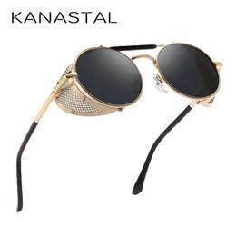 $enCountryForm.capitalKeyWord Australia - Portrait Steampunk Sunglasses From Women's Side Shield Metal Armaments Goggles Goggles Lent Sunglasses