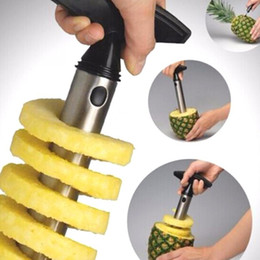 $enCountryForm.capitalKeyWord Australia - 1Pc Stainless Steel Easy to use Pineapple Peeler Accessories Pineapple Slicers Fruit Knife Cutter Corer Slicer Kitchen Tools