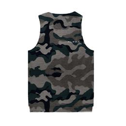 $enCountryForm.capitalKeyWord Australia - 2019 new Summer Fitness Bodybuilding Stringers GYMS Tank Tops Clothing Sleeveless Vest Undershirt Fitness Mens Casual Print