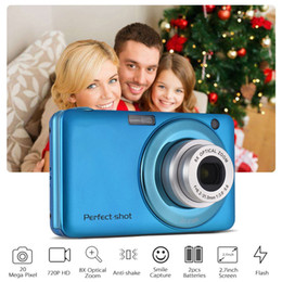 Chinese  24MP Video Record Colorful Outdoor High Definition Photo Gifts Compact Optical Zoom Face Detection Portable Kids Digital Camera manufacturers