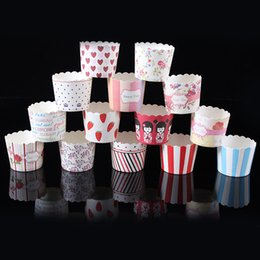 Discount cupcake baking - Hot 50pcs   Bag Multicolor Cupcake Baking Cup Styling Cooking Tool Muffin Cake Cup Kitchen Cake Tools