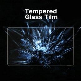 Dust free glasses online shopping - 2013 Screen Protector Dust Free Reinforced Display Screen Tempered Glass Center Control Glass Film GPS