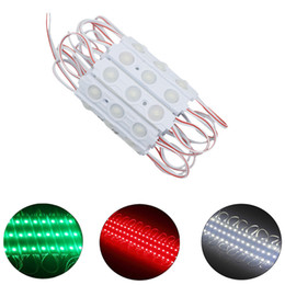 SMD 5050 LED Modules Waterproof IP67 Led Modules DC12V SMD 3 Leds Sign Led Backlights For Channel Letters Warm Cool White Red Blue on Sale