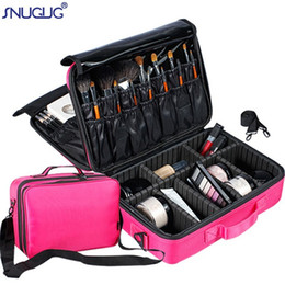 large professional cosmetic bag Australia - Women Professional Makeup Bag Large Capacity Cosmetic Bags Waterproof Storage Case Functional Travel Multilayer Makeup Organizer