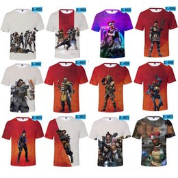 b8d53a36 plus size Apex Legends Men T-shirt Summer T Shirts 3D Print Video Games  Short Sleeve O Neck Tees Tracksuit Fitness Tops XXS-4XL 2019 A22602