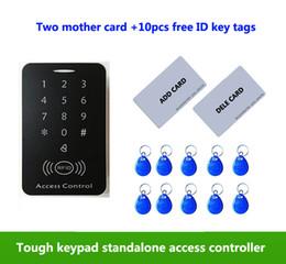 $enCountryForm.capitalKeyWord Australia - Touch Screen Access Control Keypad EM 125Khz Card Reader Standalone Access Control ,2pcs mother card, 10pcs ID tags,min:1pcs