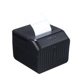 window stickers Australia - 58mm BT Thermal Receipt Printer Qr Code Barcode Sticker Adhesive Label Printer USB Port Clear Printing for Android Windows