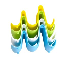 $enCountryForm.capitalKeyWord UK - High quality Pot Lid Holders colorful waves multi-functional pot cover holder knife holder creative kitchen supplies cutting board holder