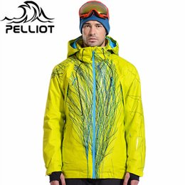 $enCountryForm.capitalKeyWord Australia - Pelliot Brand men's ski jacket witnter thermal warmth snowboarding jacket breathable plus size sports for camping snowing