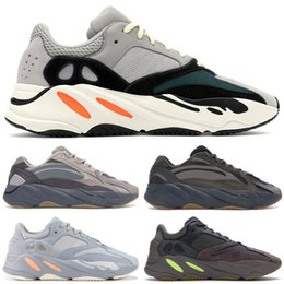 ShoeS for girlS Size 36 online shopping - 2019 Top quality Tephra Analog Designer Shoes Kanye West Wave Runner Running Shoes For Mens Womens Static Sports Sneakers Trainer Size