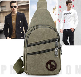 women packs NZ - 2019 Wholesale Men one shoulder inclined bag Leisure chest bag Oxford cloth Women mobile bag High-capacity Sport&Outdoor Packs Day Packs S19