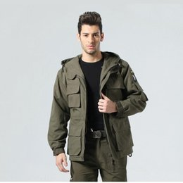 airborne tactical jackets UK - US ARMY Tactical Winter Coat Men Outdoor Thermal Cotton AIRBORNE Jacket for Sports Clothes