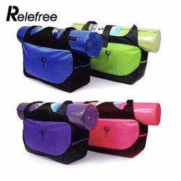 $enCountryForm.capitalKeyWord Australia - Relefree Waterproof Nylon Clothes Shoulder Yoga Backpack Yoga Mat Bag Multifunctional Backpack Bag(no mat)