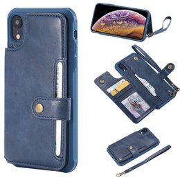 Designs For Iphone Cases Australia - 2019 OEM ODM design luxury fashionable PU leather flip card slots wallet phone case for iPhone XR