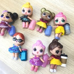 Girls plastic shoes online shopping - LOL Dolls DIY Toys Surprise Girls Romdan Models doll Contains Doll Bottle Clothes Shoes Glasses or Headwear Complete LOL kids toys