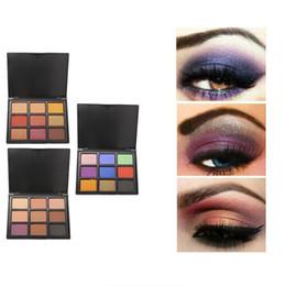 Makeup Free Shiping Australia - POPFEEL Eye Shadow 9 Colors Makeup Easy to Wear Long Lasting Earth Warm Color Matte Natural Palette Art Beauty Makeup Cosmetics Free Shiping