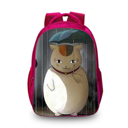 New Books UK - New Hot Natsume's Book of Friend 3D Backpack Fashion School Backpacks for Children Shoulder Bags for Boys Drop Ship