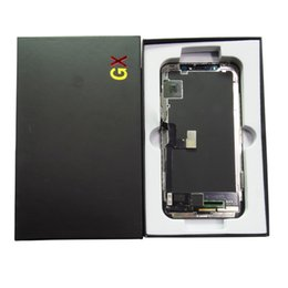 Großhandel GX Soft Amodel Lcd für iPhone X LCD Display Touchscreen Digitizer Ersatz No Dead Pixel 100% Getestet