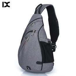 Brand Large Capacity Male Chest Bag High Quality Nylon Men School Bags  Modern Shoulder Bag Unisex Crossbody Bags Messenger Pack 93d14af88efad