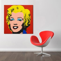 $enCountryForm.capitalKeyWord Australia - 1 Piece Marilyn Monroe Figure Painting Home Decor Living Room Modern Canvas Print Picture Wall Art No Frame