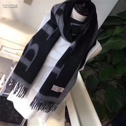 Best selling scarves online shopping - Mink scarf High quality Scarves Designer men soft Scarf Luxury shawl Autumn and winter Best selling classic Scarves size35 with box