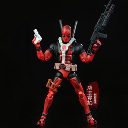 Heros Toys Australia - 17cm Marvel Univers Super Heros Deadpool Action Figure Collection Toys For Christmas Gift Weapons Free Shipping Y190604