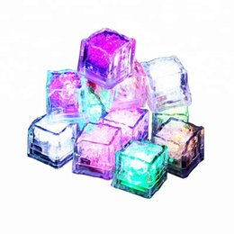 $enCountryForm.capitalKeyWord UK - Novelty LED Glow Ice Cubes, Color Changing Cup Light , Wedding Party Decoration Lights