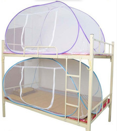 $enCountryForm.capitalKeyWord Australia - Mosquito Net For Bed,Pink Blue Purple Student Bunk Bed Mosquito Net Mesh,Cheap Price Adult Double Bed Netting Tent New