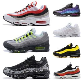 tn black shoes NZ - Mens Womens Black Yellow TT Shoes Frequency Pack New Throwback Future TN OG Neon Grape Triple White University Red Trainer Sport Sneakers