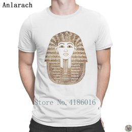 basic card Australia - Pharaoh Team Jersey Tutankhamun funky hip hop funny short sleeve men's basic size personalized card in spring and Autumn