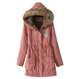 Womens Parkas Australia - 2019 New Parkas Female Women Winter Coat Thickening Cotton Winter Jacket Fashion Womens Outwear Parkas For Women Winter