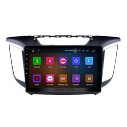 hyundai ix35 gps android 2019 - 10.1 inch Android 9.0 Touchscreen Head Unit GPS Car Radio for 2014 2015 HYUNDAI IX25 Creta with Bluetooth WIFI support C
