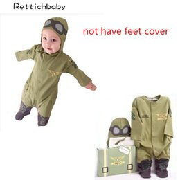 Cap Fly Aviators Helmet Without Foot Cotton Army Green Baby Rompers Pilot Airman Costumes Baby Boy Clothes Hat Space Jumpsuit Back To Search Resultsmother & Kids