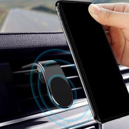 Discount mount l bracket - Car Air Vent Mount L Shape Clip Bracket Phone Holder For GPS Smartphone Black Stand Magnet Phone Holder Car Accessories