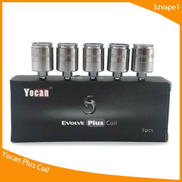 $enCountryForm.capitalKeyWord Australia - Yocan Replacement Coils For Yocan Evolve Evolve Plus Wax Vape Pen QDC Quartz Dual Coil Fit for Evolve plus Kit DHL Free Shipping