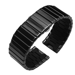 19mm watch bracelet Australia - Watchbands , 19mm 24mm 27mm Ceramic watch strap bracelet men and women fashion watchbands
