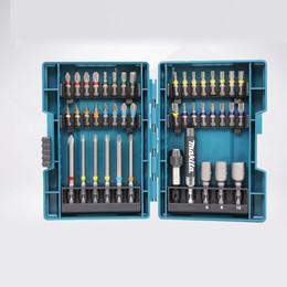 $enCountryForm.capitalKeyWord NZ - Japan Makita Drill Bit Set 43 PCS Set Screwdriver Colour Screwdriver Head Cross Flower Type Head Hexagon Socket Tool Parts