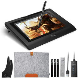 """$enCountryForm.capitalKeyWord Australia - raphic drawing Parblo Coast10 10.1\"""" IPS Graphic Drawing Tablet LCD Display Monitor+ Battery-free Pen+ Two-Finger Glove+ Wool Liner Bag+ ..."""