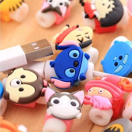 $enCountryForm.capitalKeyWord NZ - Cartoon Cable Protector Data Line Cord Protector Protective Case Cable Winder Cover For iPhone USB Charging Cable