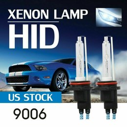 Xenon replacement bulbs online shopping - 2x W HB4 HID K AC HID Xenon Headlight Replacement Front Lamp Bulbs