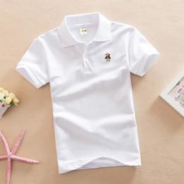 e0f69c505640 good quality children kids shirts solid 2019 new short sleeve students summer  school uniforms boys fashion cotton lapel tops