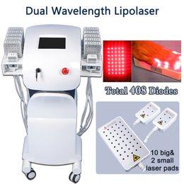 Light Liposuction online shopping - lipo light machine lipolaser slimming beauty machine rejuvenate skin loss fat handles lipolaser machine nm liposuction
