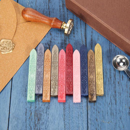 $enCountryForm.capitalKeyWord Australia - crapbooking Stamping Stamps 10 Colors Ancient Retro Sealing Wax Stick for DIY Envelope Letter Wedding Invitations Craft Decor Vintage Sea...